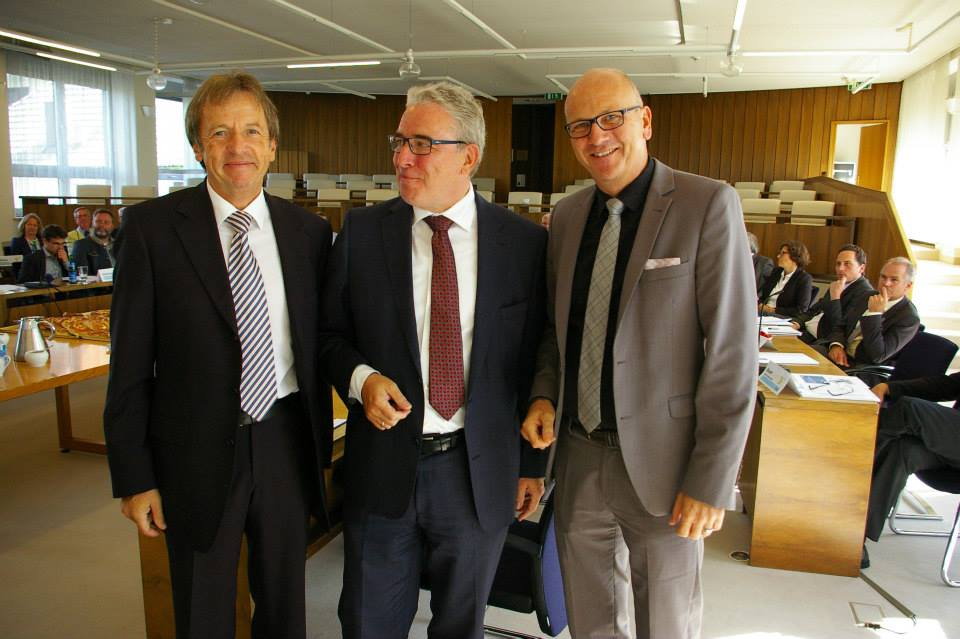 Oberbürgermeister Noerenberg mit neuem Amt
