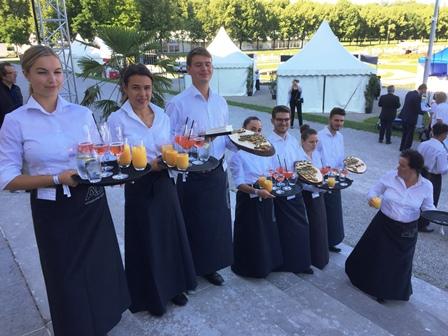 Drei Neu-Ulmer beim Sommerfest des Bayerischen Landtags