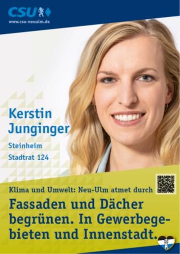 Kerstin Junginger, Steinheim – ihre Ziele