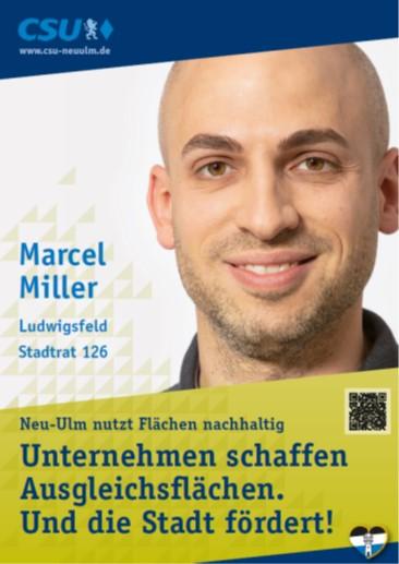 Marcel Miller, Ludwigsfeld – seine Ziele