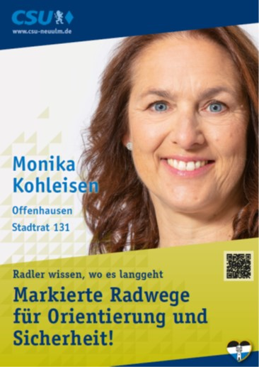 Monika Kohleisen, Offenhausen – ihre Ziele