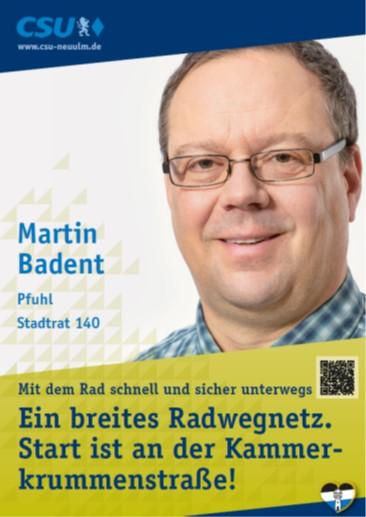 Martin Badent, Pfuhl – seine Ziele