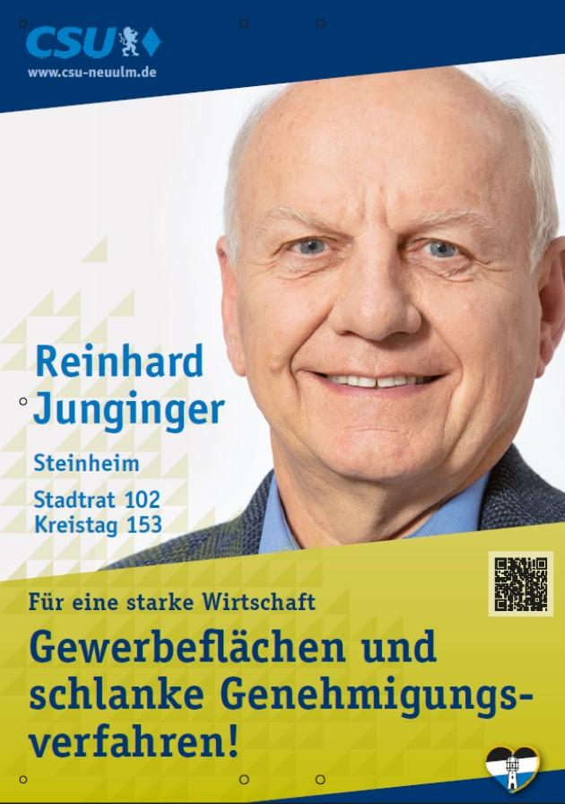 Reinhard Junginger, Steinheim – seine Ziele