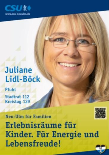 Juliane Lidl-Böck – ihre Ziele