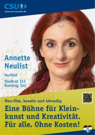 Annette Neulist, Vorfeld – ihre Ziele