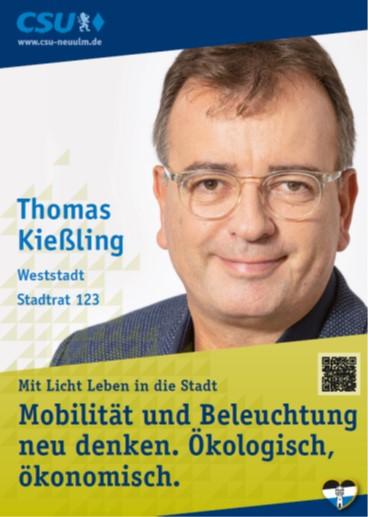 Thomas Kießling, Weststadt – seine Ziele