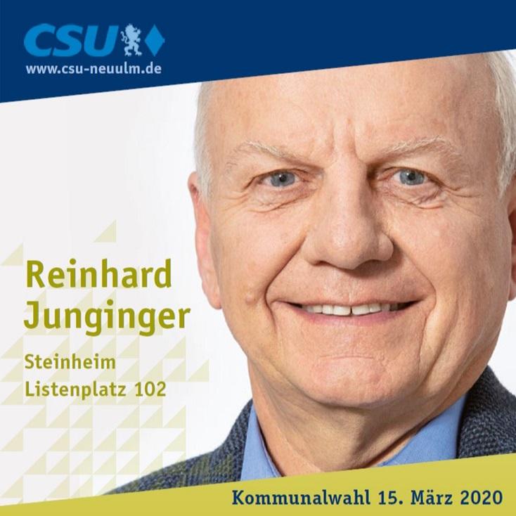 Reinhard Junginger, Steinheim – seine Ziele im Film