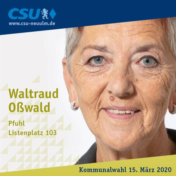 Waltraud Oßwald, Pfuhl – ihre Ziele im Film