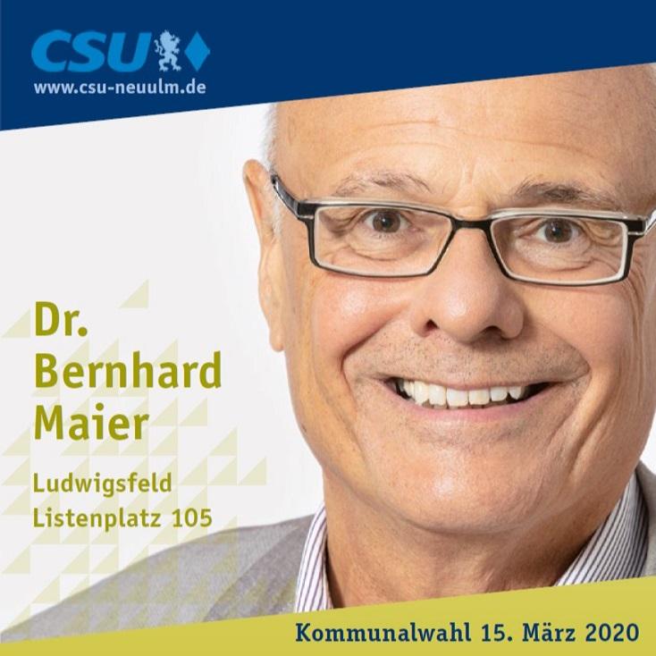 Dr. Bernhard Maier, Ludwigsfeld – seine Ziele im Film