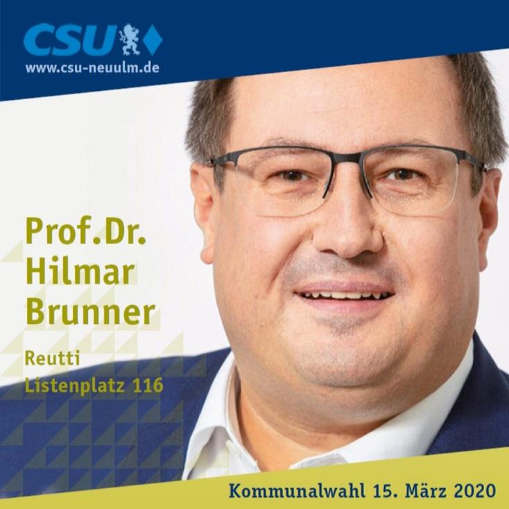 Prof. Dr. Hilmar Brunner, Reutti – seine Ziele im Film