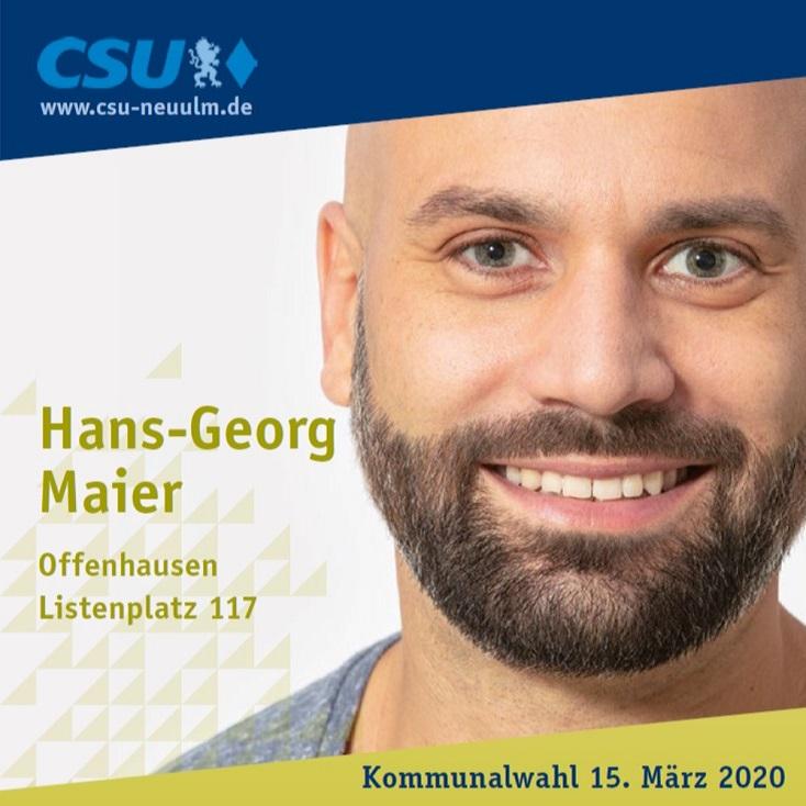 Hans-Georg Maier, Offenhausen – seine Ziele im Film