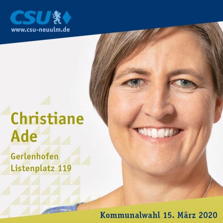 Christiane Ade, Gerlenhofen – ihre Ziele im Film